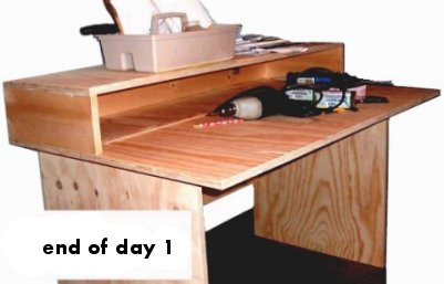 Build A Computer Desk Weekend Project